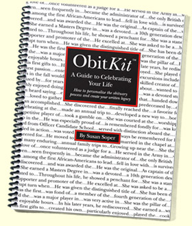 Cover photo of the ObitKit by Susan Soper