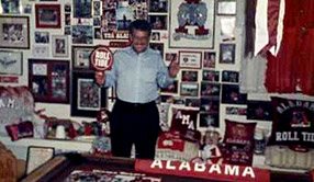 ObitKit, Susan Soper: a man and his Albama Crimson Tide memorabilia