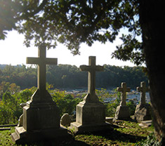 ObitKit, Susan Soper: serene cemetary at sunset