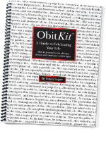 ObitKit, Susan Soper: product cover